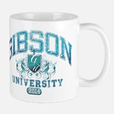 Gibson Last Name University Class of 2014 Mug