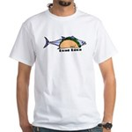 Tuna Taco White T-Shirt
