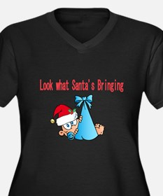 Look what Santas bringing us Plus Size T-Shirt