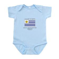 Uruguay Montevideo West Mission - Uruguay Flag - C