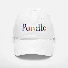 Poodle Baseball Baseball Cap