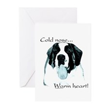 Saint Warm Heart Greeting Cards (Pk of 10)