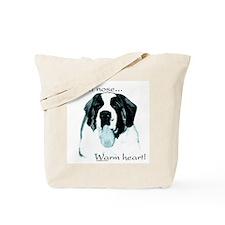 Saint Warm Heart Tote Bag