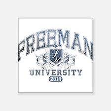 Freeman Last Name University Class of 2014 Sticker