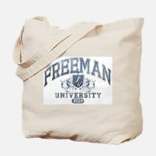 Freeman Last Name University Class of 2014 Tote Ba