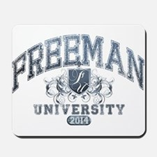 Freeman Last Name University Class of 2014 Mousepa