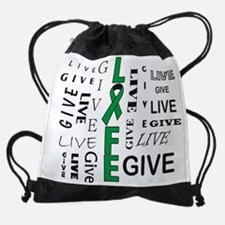 Live to Give Drawstring Bag