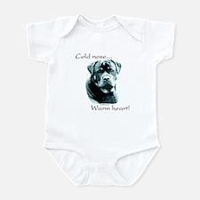 Saluki Warm Heart Infant Bodysuit