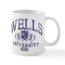 Wells Last Name University Class of 2014 Mug