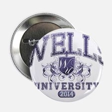 """Wells Last Name University Class of 2014 2.25"""" But"""