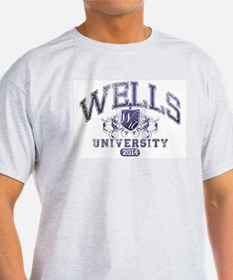 Wells Last Name University Class of 2014 T-Shirt
