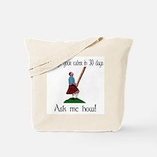 Enlarge your caber... Tote Bag