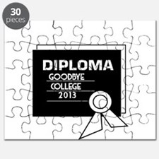 Diploma-Goodbye College 2013 Puzzle