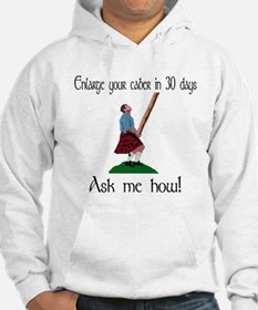 Enlarge your caber... Hoodie