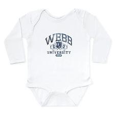 Webb Last Name University Class of 2014 Body Suit