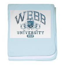 Webb Last Name University Class of 2014 baby blank
