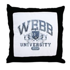 Webb Last Name University Class of 2014 Throw Pill