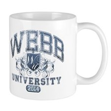 Webb Last Name University Class of 2014 Mug