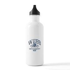 Webb Last Name University Class of 2014 Water Bott