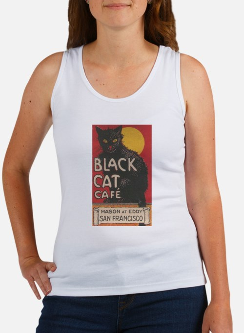 san-francisco-black-cat-cafe.jpg Tank Top