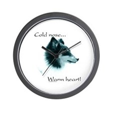 Sheltie Warm Heart Wall Clock