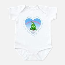 """""""Merry Kissmas"""" Infant Bodysuit/Creeper"""