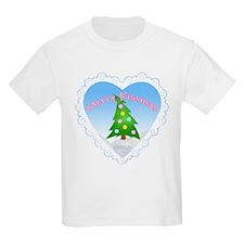 """Merry Kissmas"" Kids T-Shirt"