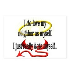 Love Thy Neighbor Postcards (Package of 8)
