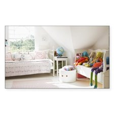 Tranquil childs bedroom Decal