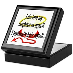 Love Thy Neighbor Keepsake Box