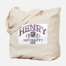 Henry Last name University Class of 2014 Tote Bag