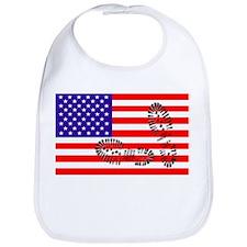 USSA American Police State Bib