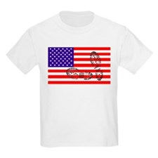 USSA American Police State Kids T-Shirt