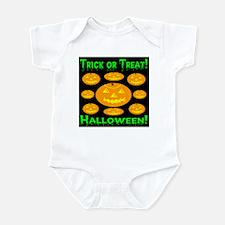 Trick or Treat! 9 Halloween J Infant Bodysuit
