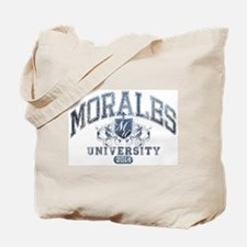 Morales Last Name University Class of 2014 Tote Ba