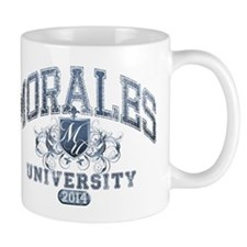 Morales Last Name University Class of 2014 Mug