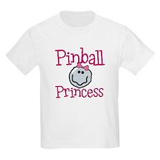 Pinball Princess Kids T-Shirt