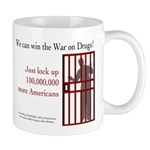 Win the War on Drugs Mug