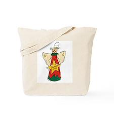 Joyeux Noel Angel Tote Bag