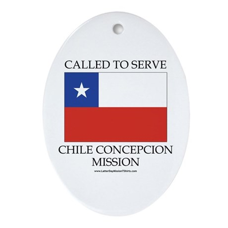 Chile Concepcion Mission - Chile Flag - Called to