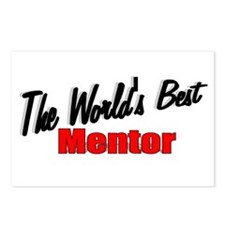 """The World's Best Mentor"" Postcards (Package of 8)"