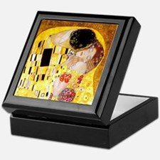 The Kiss by Klimt Keepsake Box