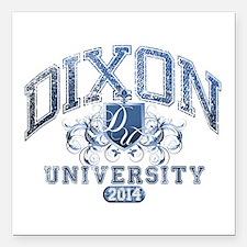 Dixon Last name University Class of 2014 Square Ca