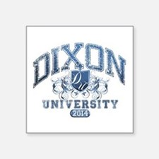 Dixon Last name University Class of 2014 Sticker