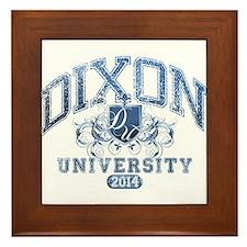Dixon Last name University Class of 2014 Framed Ti