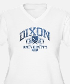 Dixon Last name University Class of 2014 Plus Size