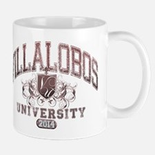 Villalobos Last Name University Class of 2014 Mug