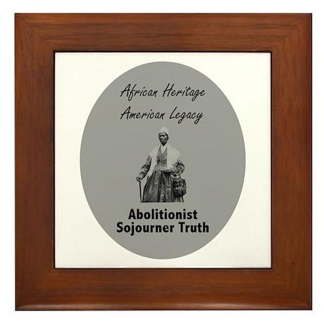 Sojourner Truth Framed Tile