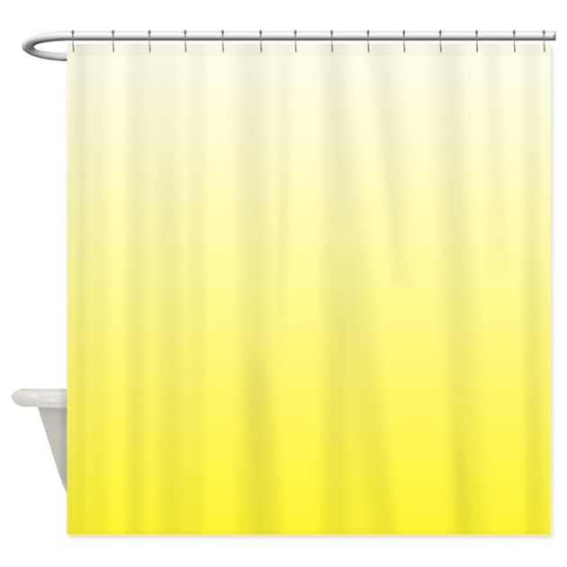 Shades Of Yellow Shower Curtain By Cheriverymery