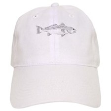 Asian Redfish Baseball Baseball Cap
